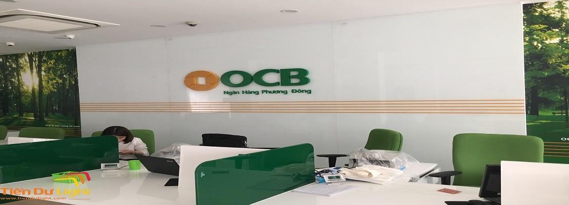 Hoàn thành hạng mục Ngân hàng OCB