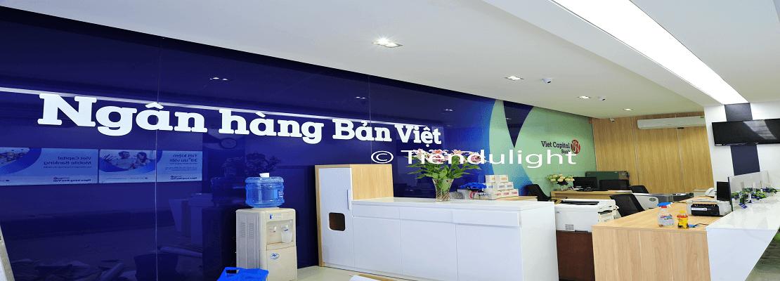 Hoàn thành các hạng mục công trình cho Ngân Hàng Bản Việt (Viet Capital Bank) – Phòng Giao dịch Cầu Giấy