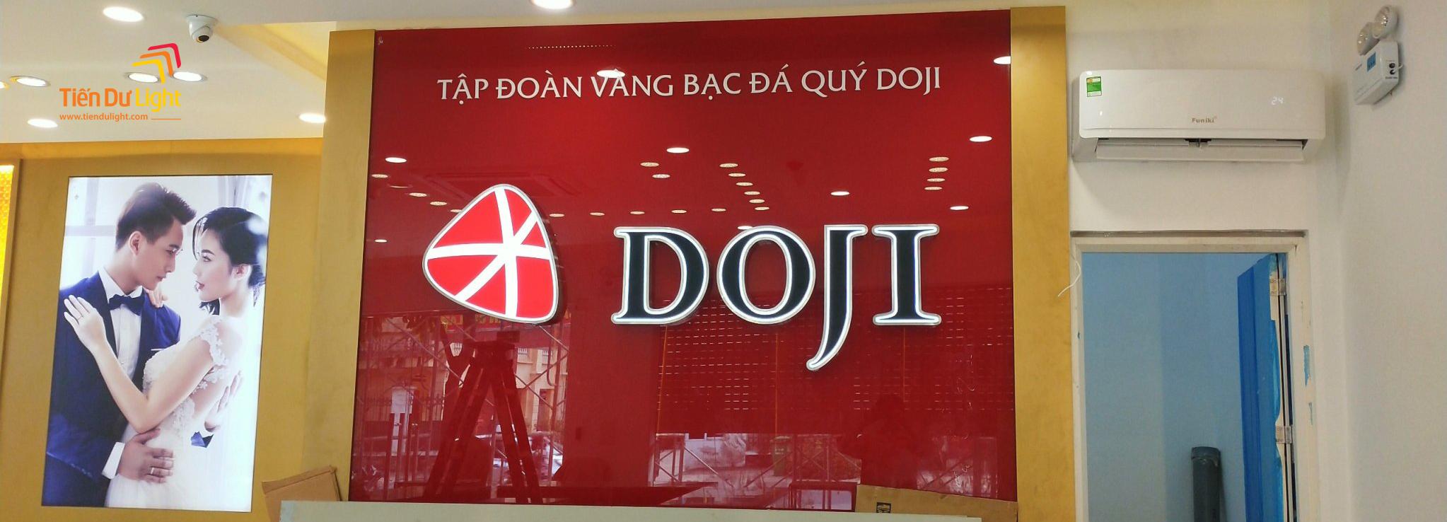 Hoàn thành hạng mục trung tâm vàng bạc trang sức DOJI chi nhánh toàn quốc