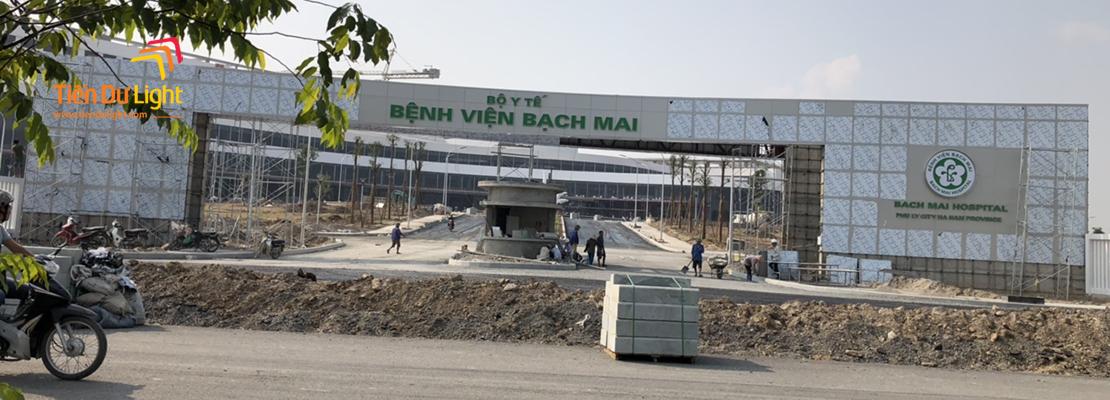 Hoàn thành hạng mục hệ thống biển chỉ dẫn Bệnh viện Bạch Mai