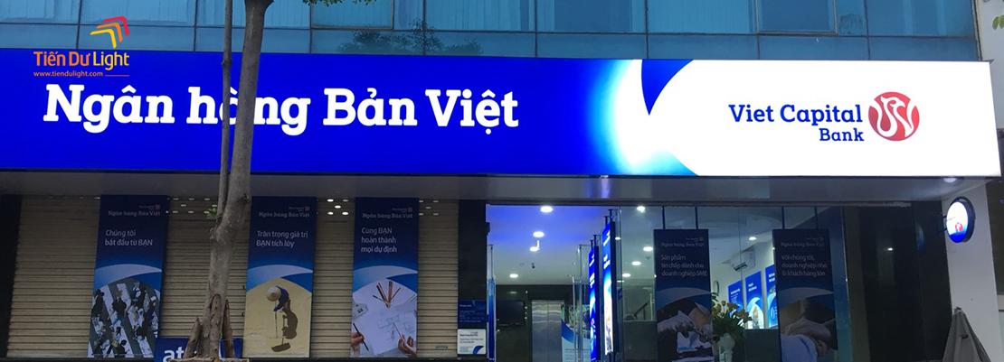 Hoàn thành hạng mục Ngân hàng Bản Việt trên toàn quốc