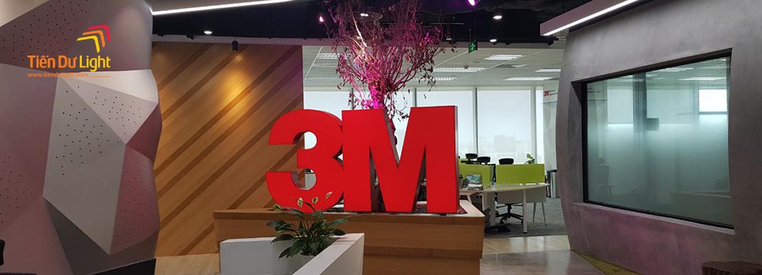 Hoàn thành hạng mục trang trí văn phòng 3M Việt Nam
