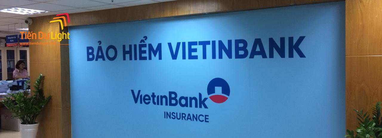 Hoàn thành hạng mục làm mới hình ảnh bảo hiểm VietinBank trên phạm vi toàn quốc