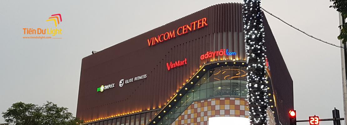 Hoàn thành hạng mục công trình TTTM Vincom Center Phạm Ngọc Thạch