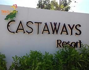 Thi công biển quảng cáo resort