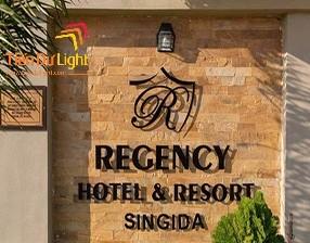 Thiết kế thi công biển quảng cáo resort