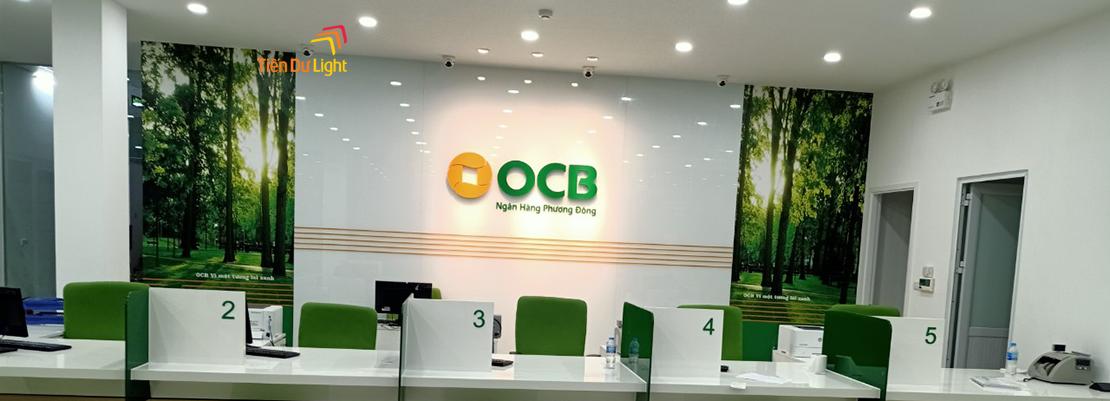 Hoàn thành hạng mục công trình OCB Nguyễn Văn Cừ- Long Biên
