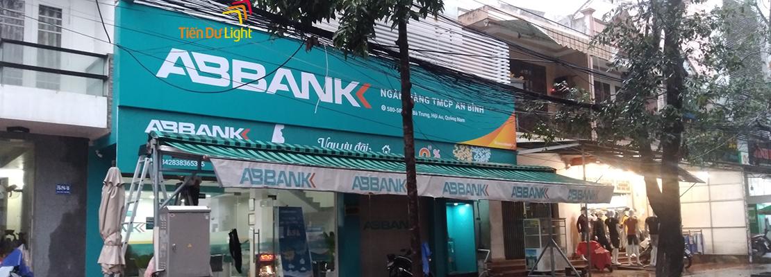 Hoàn thành hạng mục công trình ngân hàng AB Bank Hội An Quảng Nam