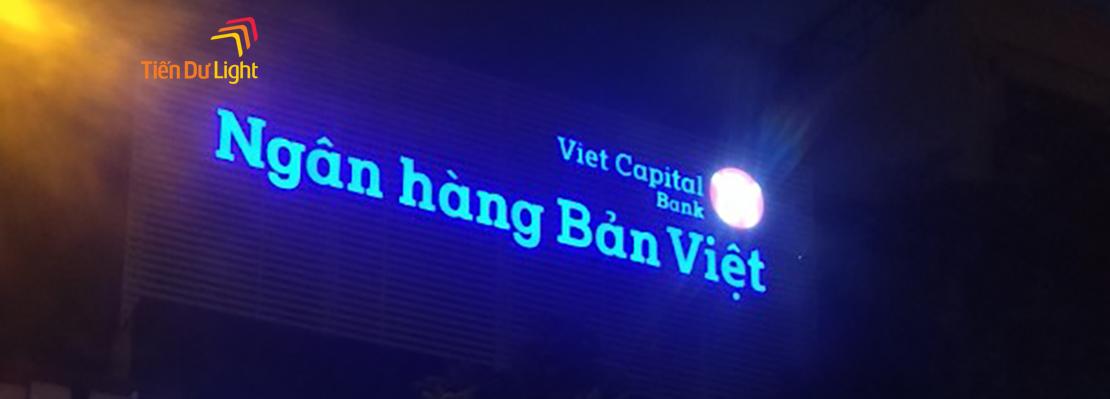 Hoàn thành hạng mục công trình ngân hàng Bản Việt Hai Bà Trưng